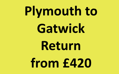 Plymouth to Gatwick Return