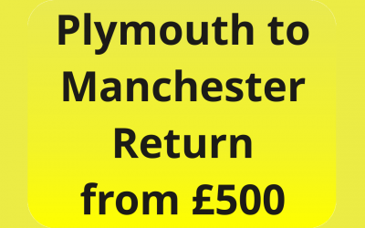 Plymouth to Manchester Return