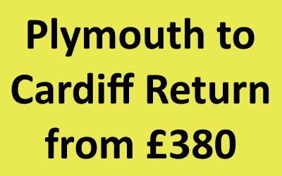 Plymouth to Cardiff Return