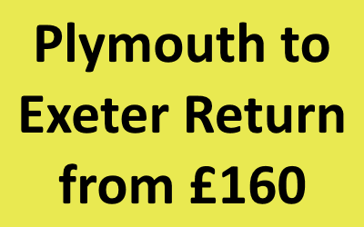 Plymouth to Exeter Return