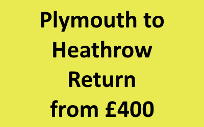 Plymouth to Heathrow Return